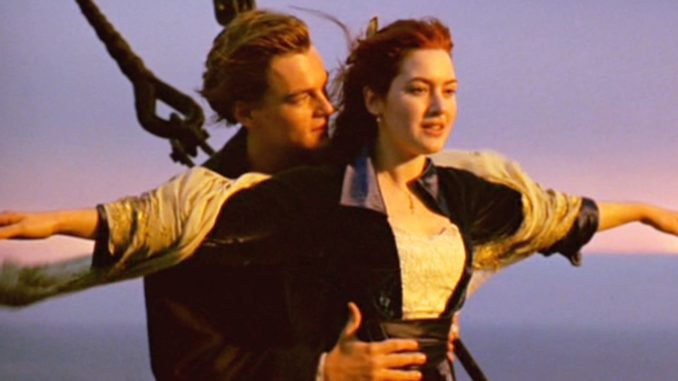 cena de titanic